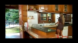 Spanish hotwife bonks in the kitchen xvideoscom