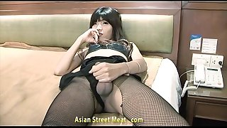 Asian a-hole fuck tienanal
