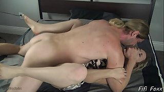 Son forces mama to fuck him - fifi foxx and 10-Pounder ninja