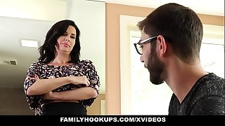 Familyhookups - sexy milf teaches stepson how to fuck