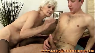 Amateur aged granny acquires ravaged