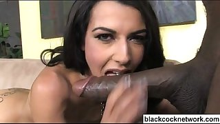 Lou charmelle interracial orall-service
